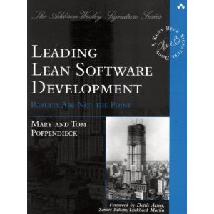 Leading Lean Software Development - Book Cover